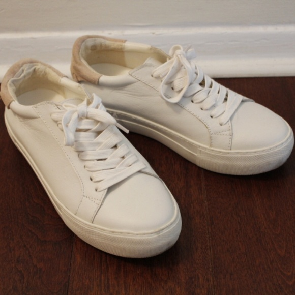 Jslides White Sneakers Womens Size 7